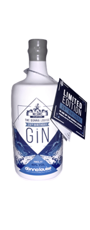Nelson's gin Donna Louise