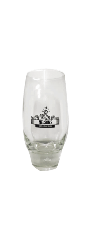 Nelson's gin mixer glass