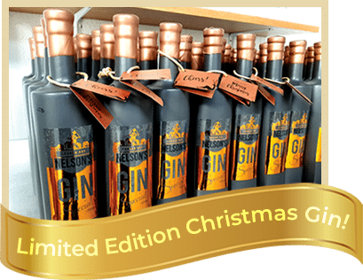 Limited edition Christmas gin