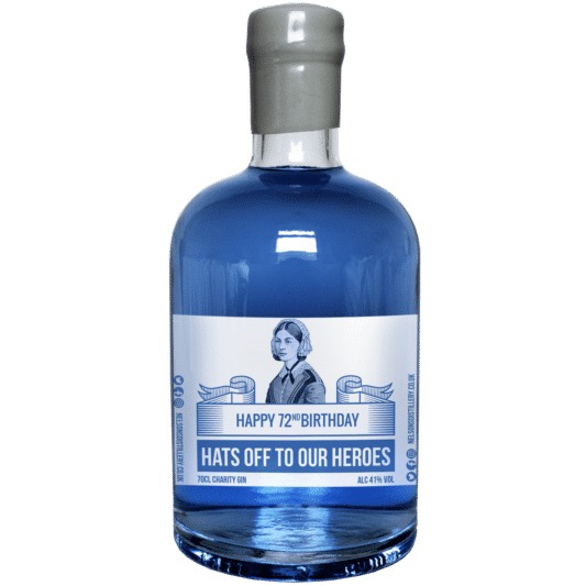 Charity Blue Gin, 70cl